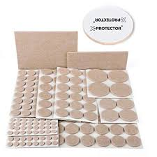 x protector premium ultra large pack furniture pads 181 piece felt pads furniture feet