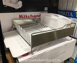 costco 1191342 kitchenaid large dish drying rack holds a variety of cookware