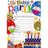 invitations to birthday party party invitations amazon co uk