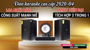 Dàn karaoke gia đình cao cấp 2020: Giá Rẻ, Cực hay, Đúng Chuẩn( Loa Domus  DP 6120, BKsound DP8000) - YouTube
