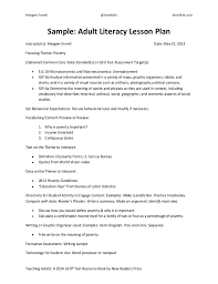 Sample Teacher Lesson Plan Template. The Best Unit Plan Template ...