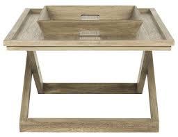 arleana cross leg coffee table w tray fox4230a coffee tables