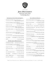 Resume Executive Producer Resume Film Resumes Template Awesome