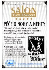Péče O Nohy A Nehty Kosmetický Salon Yveta Königová Liberec