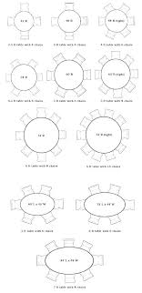 dining table size for 6 room person new 8 round ball dimensions