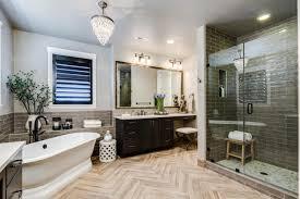 Bathroom with ship-lap siding and wall of windows. #bathroom #designs  homechanneltv