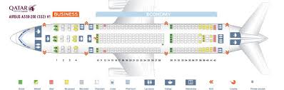 Airbus A330 Seating Chart Qatar Airways Fleet Airbus A330 200 Details And Pictures