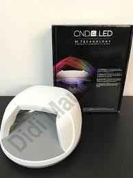 Cnd Uv Light Cnd Led Light Professional Shellac Led Lamp Dryer 3c Tech 110 240v