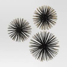 sea urchin wall d cor gold project 62  on target gold metal wall art with sea urchin wall d cor gold project 62 target
