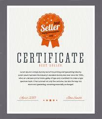 Best Certificate Templates 33 Fabulous Achievement Certificate Templates Designs Free