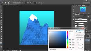 Art For Non Artists 2d Game Art For Non Artists 2 Sky And Mountains Youtube