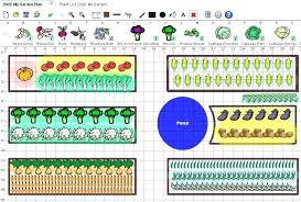 garden layout plans. Raised Bed Vegetable Garden Layout Plan Plans Design .