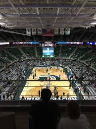 Breslin Arena Seating Chart Breslin Center Section 218 Row 4 Seat 6 Michigan State