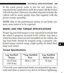 Correct Wheel Torque Number Dodge Durango Forum