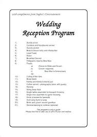 Wedding Service Programs Day Program Template Ceremony Templates