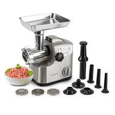electric meat grinder. 1800w electric meat grinder- mg850 by euro-chef grinder