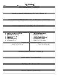 Tess-Inspired Lesson Plan Template By Everyone's Favorite Math Teacher