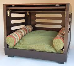 designer dog crate  custom dog crate  luxury dog furniture
