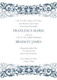 Invitation Templates Word Free Wedding Invitation Templates For Word exceptional Wedding 1