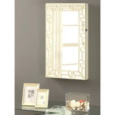 armoires mounted jewelry armoire coaster accent mirrors wall mounted jewelry coaster fine furniture bellissimo wall