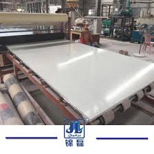 solid surface super extreme pure white artificial engineered stone quartz for countertops manufacturer pictures