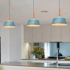 wood pendant light blue modern chandelier lighting kitchen island ceiling lights