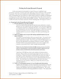 Research Paper Proposal Example Apa Examples