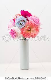 Paper Flower Bouquet In Vase Crepe Paper Flower Bouquet