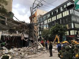 Earthquakes can cause damage and destruction on a massive scale. Scenes Of Earthquake Damage From Mexico City Neighborhood Reveal City In Rescue Mode