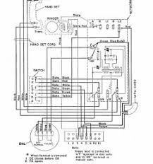 phone wiring diagram 500l and m classicrotaryphones com wiring diagrams