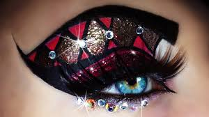 carnival mardi gras makeup tutorial trucco carnevale 4k oled you