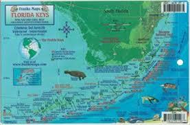 Florida Keys Dive Map Reef Creatures Guide Franko Maps