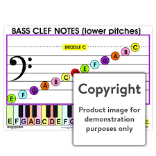 Bass Clef Chart Bass Clef Notes