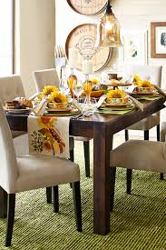 fall is a time for gathering and pier 1 s handcrafted parsons dining table offers plenty of room for that the clean lines of the solid mango wood table