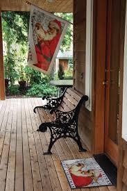 toland home garden santa at the map standard mat