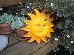 ceramic sun wall art ceramics ceramic sun and moon wall art