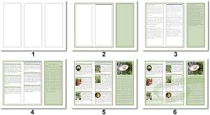 3 column brochure brochure numbered templates lpg openoffice writer libreoffice