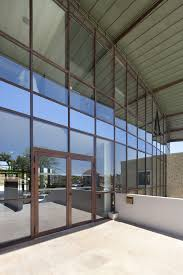 entry door pivoting glass acoustic