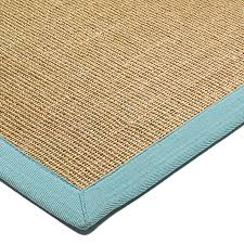 sisal rug linen aqua thin jute pile land of rugs