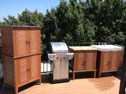 outdoor storage tall cabinet