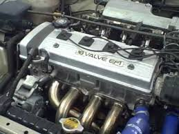 Toyota Corolla Engine 7afe 4afe installed 1994 - YouTube