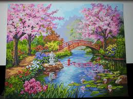 Japanese garden by Valadilenne