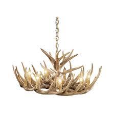 whitetail antler cascade chandelier