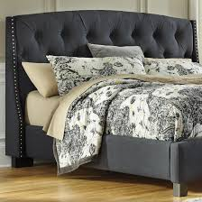 cushion headboard queen. Fine Cushion Signature Design By Ashley Kasidon Queen Upholstered Headboard  Item  Number B600557 And Cushion T