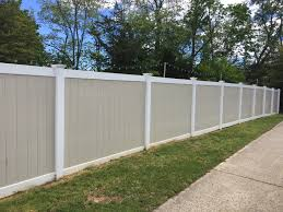 vinyl privacy panel two tone tan two tone vinyl privacy fence78 privacy