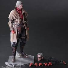 metal gear solid v the phantom pain ocelot play arts kai 10 action figure