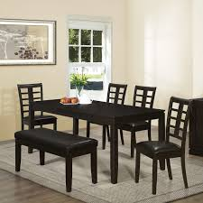 dining room tables long country dining table sets with dining chair black painted wood dining