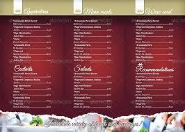 Template Menu Restaurant Free Word Altpaper Co