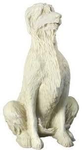 irish wolfhound 49 garden animal statue