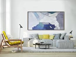 handmade original horizontal wall art